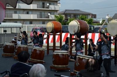 泰山太鼓(倉敷翠松高校)